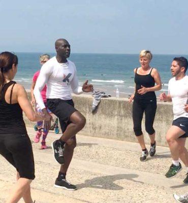 outdoor training entrainement plein air cote basque coach kass biarritz